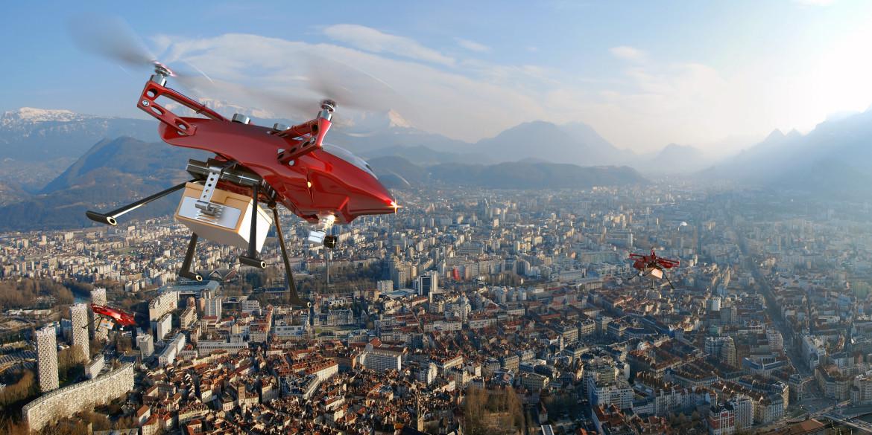 Livraisons par drones