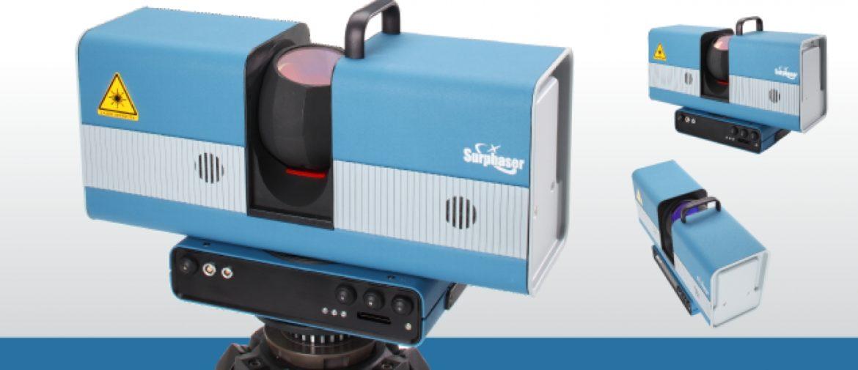 laserový skener surphaser