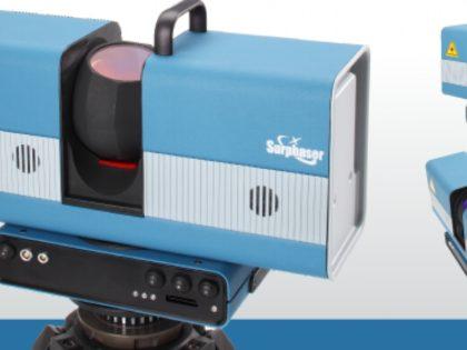 Vysoce přesné 3D skenování s laserovým skenerem Surphaser