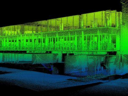 Využití mobilního laserového skeneru GeoSLAM ZEB HORIZON