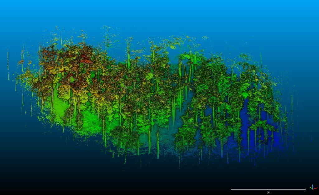 Dodání skeneru GeoSLAM Horizon lesnické fakultě