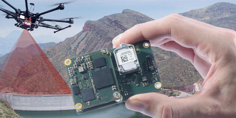 Nová INS/GNSS jednotka Qaunta UAV pro zvýšení produktivity UAV mapování