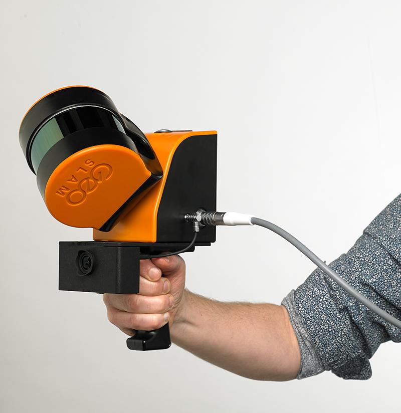 Další mobilní laserový skener GeoSLAM ZEB HORIZON úspěšně předán zákazníkovi