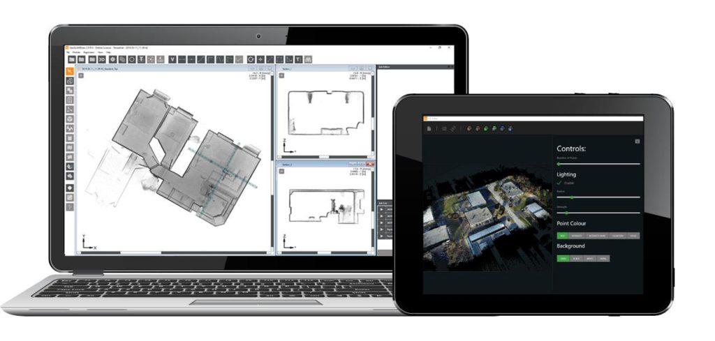 GeoSLAM uvolňuje novou verzi softwaru HUB pro mobilní laserový skener GeoSLAM ZEB HORIZON