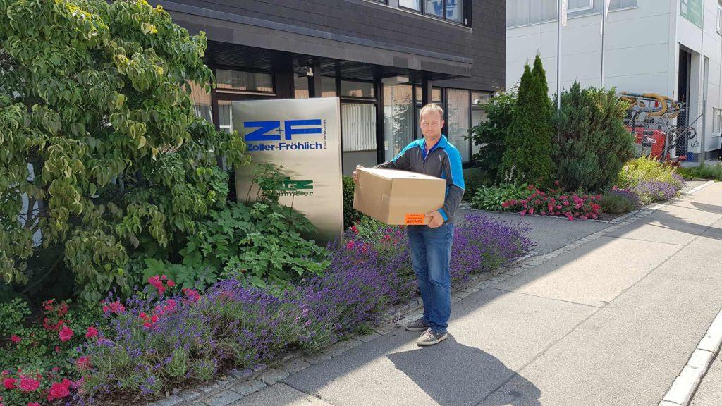 Rozšiřujeme nabídku o laserové skenery společnosti Zoller + Fröhlich