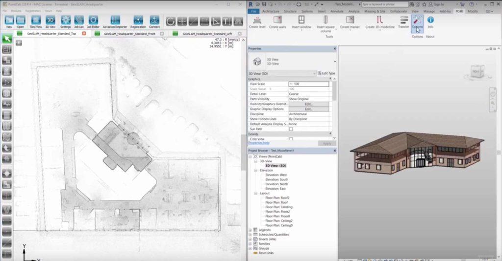 Elegantní cesta využití naskenovaných dat v softwaru Autodesk Revit?