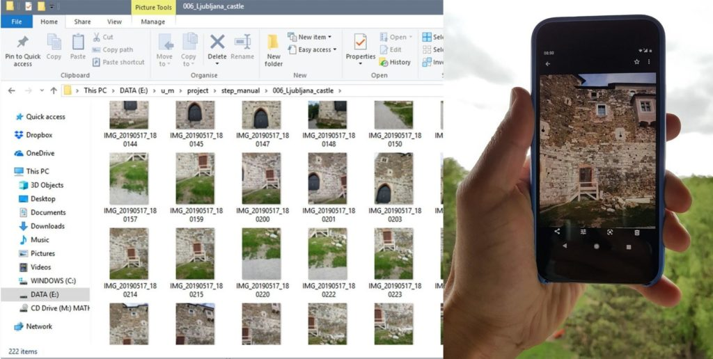 Software 3Dsurvey je úspěšně využíván i pro pozemní fotogrammetrii