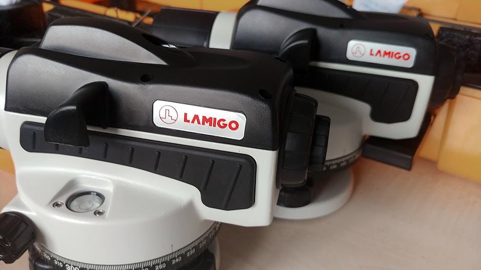 Nabídku optických a laserových nivelačních přístrojů rozšiřujeme o značku LAMIGO