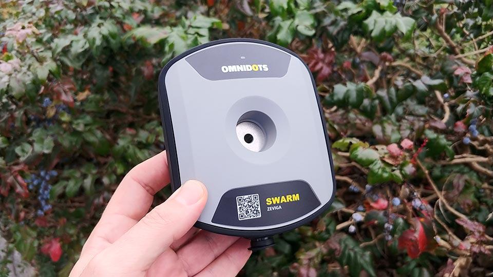 Monitoring a systém sledování vibrací staveb, objektů a budov Omnidots