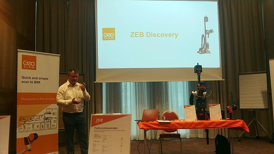 Prezentace mobilního mapovacího systému GeoSLAM ZEB DISCOVERY